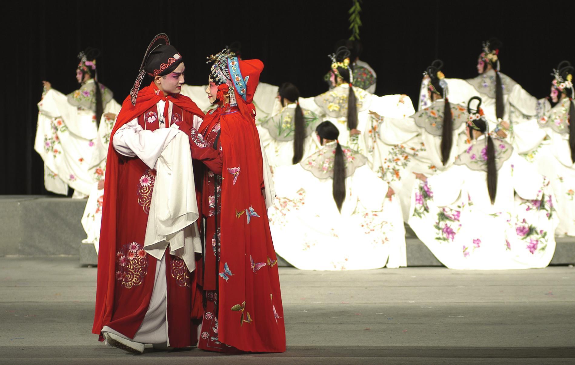 被誉为国粹的京剧已成为传播传统艺术文化的重要媒介
