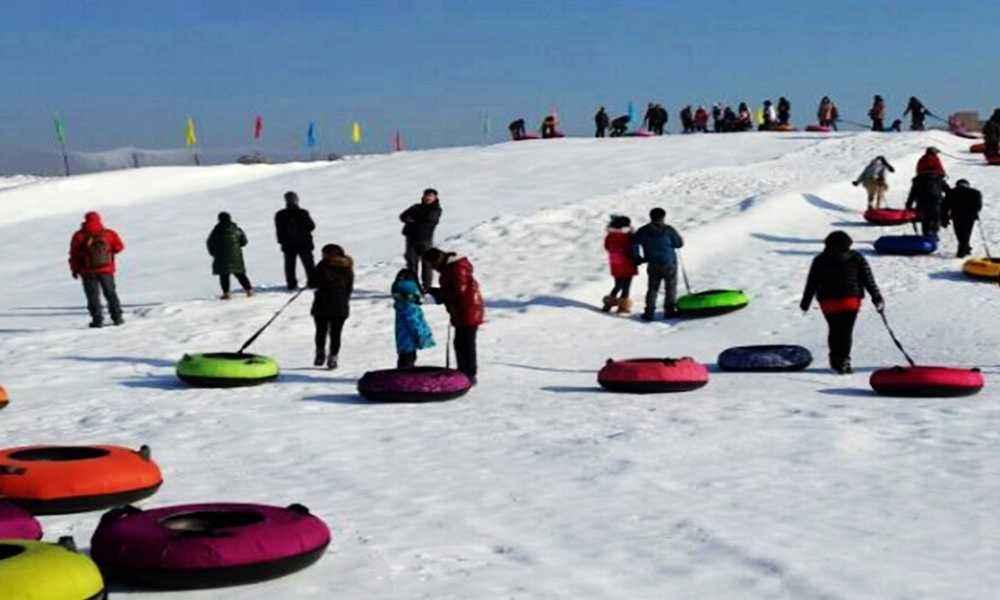 丁香湖冰雪大世界,丁香湖冰雪节内容,电话丁香门票结主要团购图片