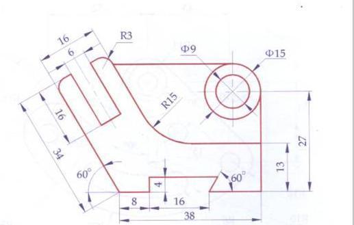 55张CAD平面练习图,CAD新手练技术的好图