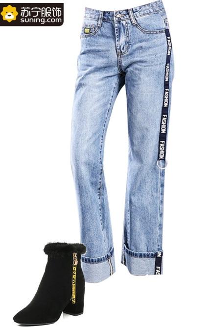 装配牛仔裤_长裤 裤子 牛仔裤 433_667 竖版 竖屏