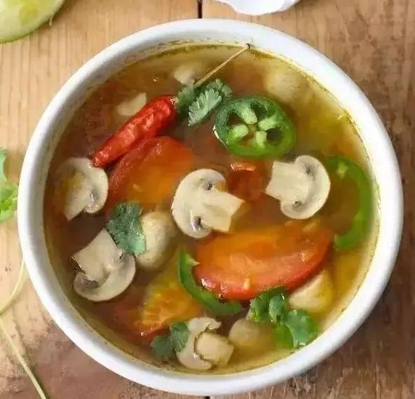 番茄香菇美食1朵,金针菇1小把,豆皮1片,四季豆5-6根,小正文10颗,胡百度vb云入门教程图片