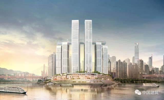 见过横向的摩天大楼吗?