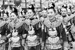 当地侗族同胞欢聚一堂,喜迎侗年到来,热闹非凡