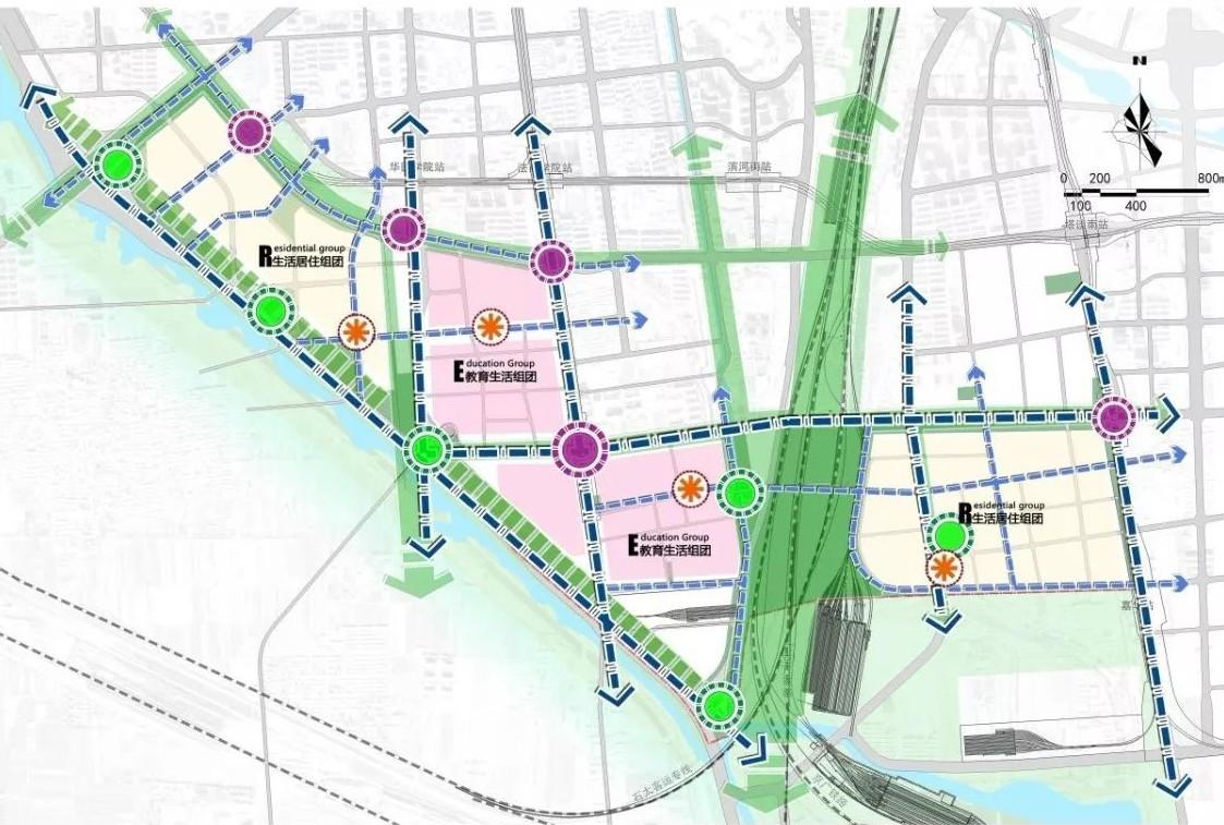 石家庄中心城区西南片区规划首次曝光!3条地铁!