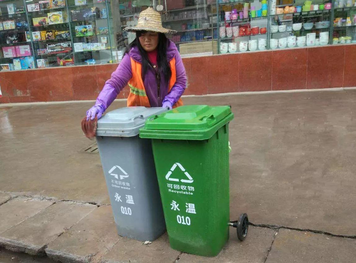 垃圾分类,让生活更环保图片