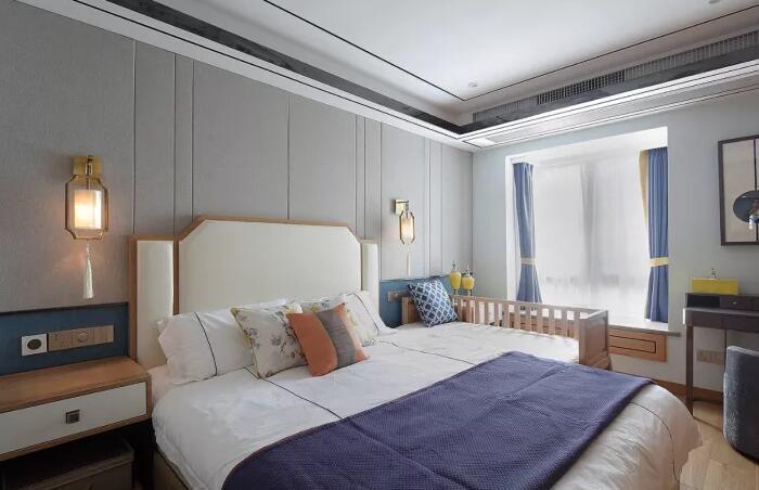 110平的新房装成新中式,没想到装修出来的效果把爸妈图片