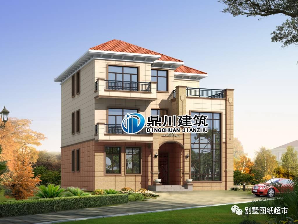 想分享给全世界的11款三层欧式自建别墅,第6套只要25万!