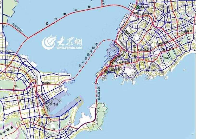 青岛第二条海底隧道亮相!