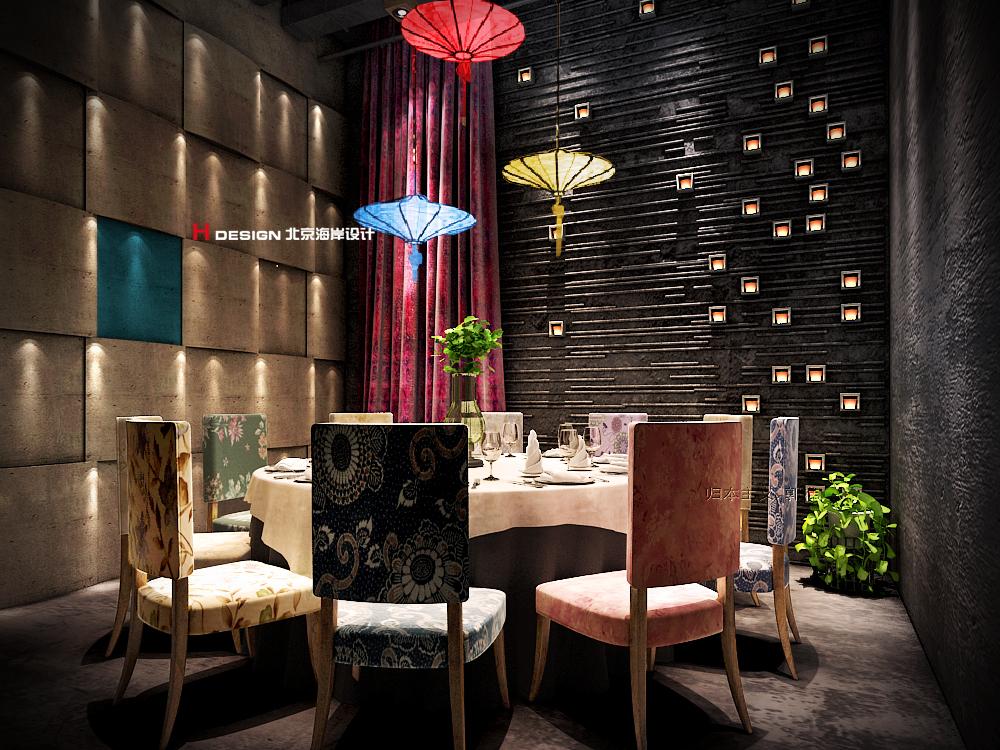 油纸伞,摇曳多姿,济南山东湘鄂情怀特色餐厅7总结pcb实训绘制图片