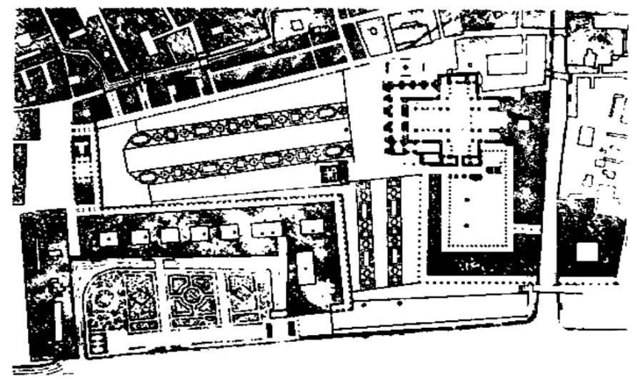威尼斯圣马可广场平面