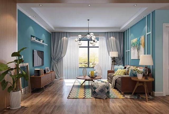 石家庄客厅装修效果图大全 多种风格总有你的心头好!