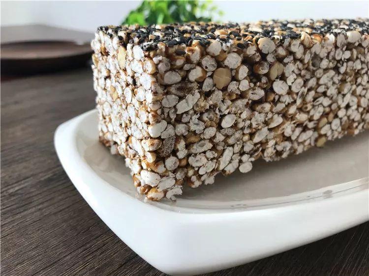 茶陵传统糕点米花糖的手工制作全过程实录