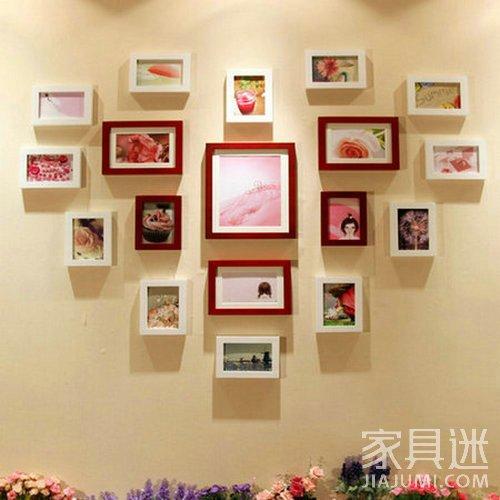 宝贝成长照,有一定时间顺序的照片 注意事项: 1, 照片墙设计——相框