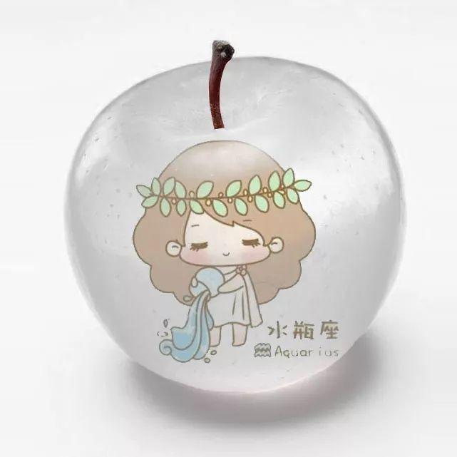 平安夜!星座生肖苹果里的唯美世界微信头像