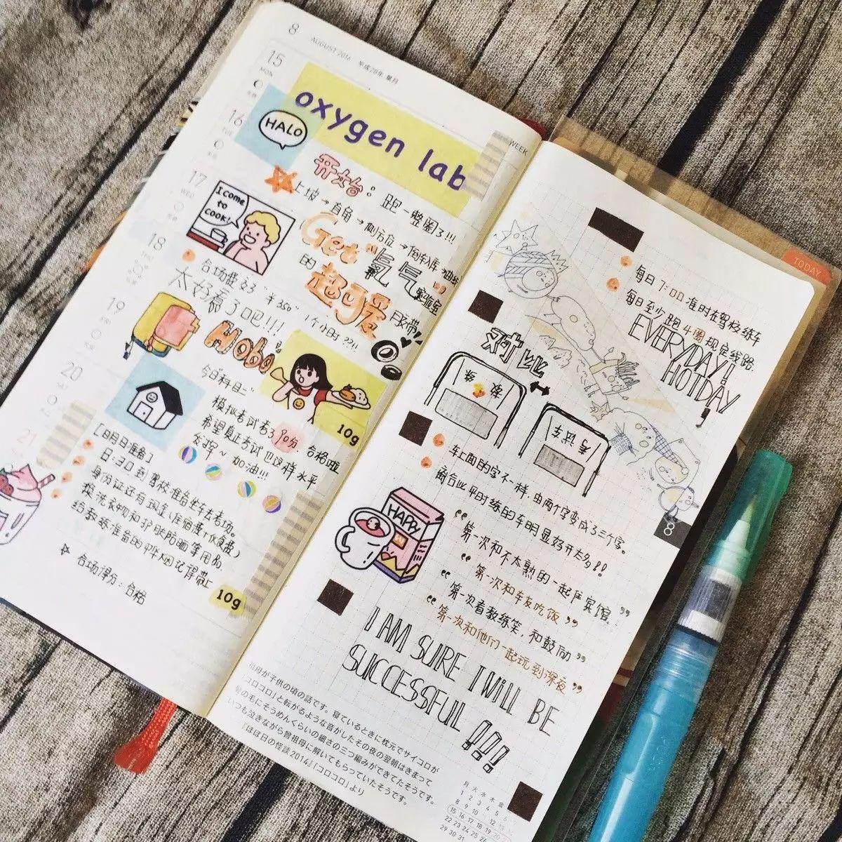 在笔记本中列下每天要做的语文以及识字情况,帮助教案更合理有效地苏教版年级二孩子下完成2事情设计图片