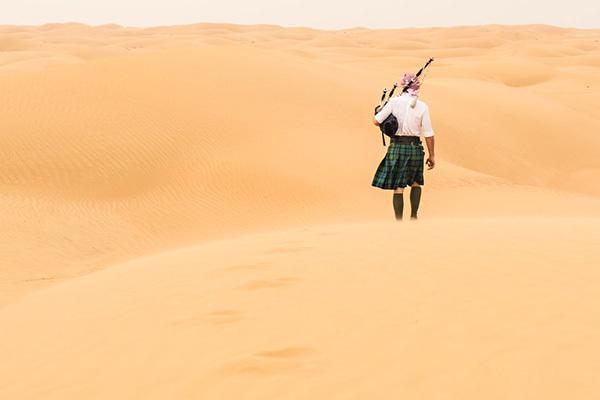 环游世界的风笛手