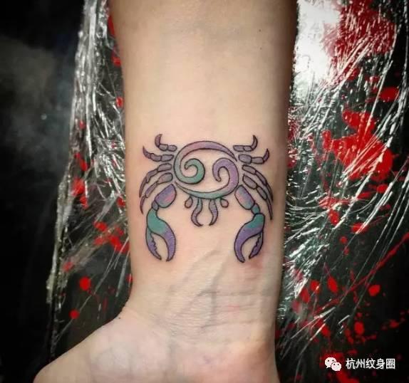 tattoo   纹身素材: 巨蟹座(cancer)