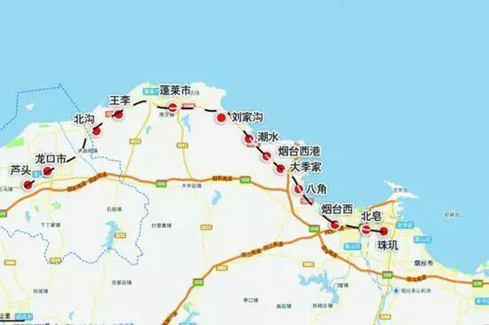 △龙烟铁路路线图