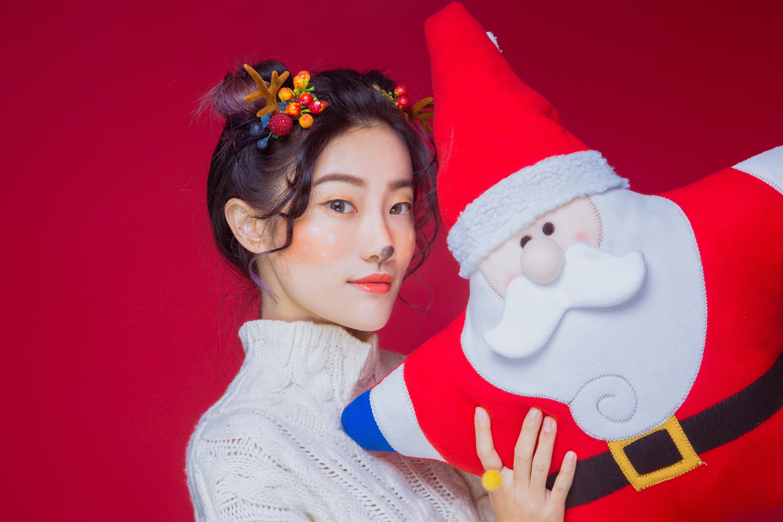 圣诞节甜美麋鹿妆容教程 - 小心肝儿甜蜜蜜 - 小心肝儿甜蜜蜜