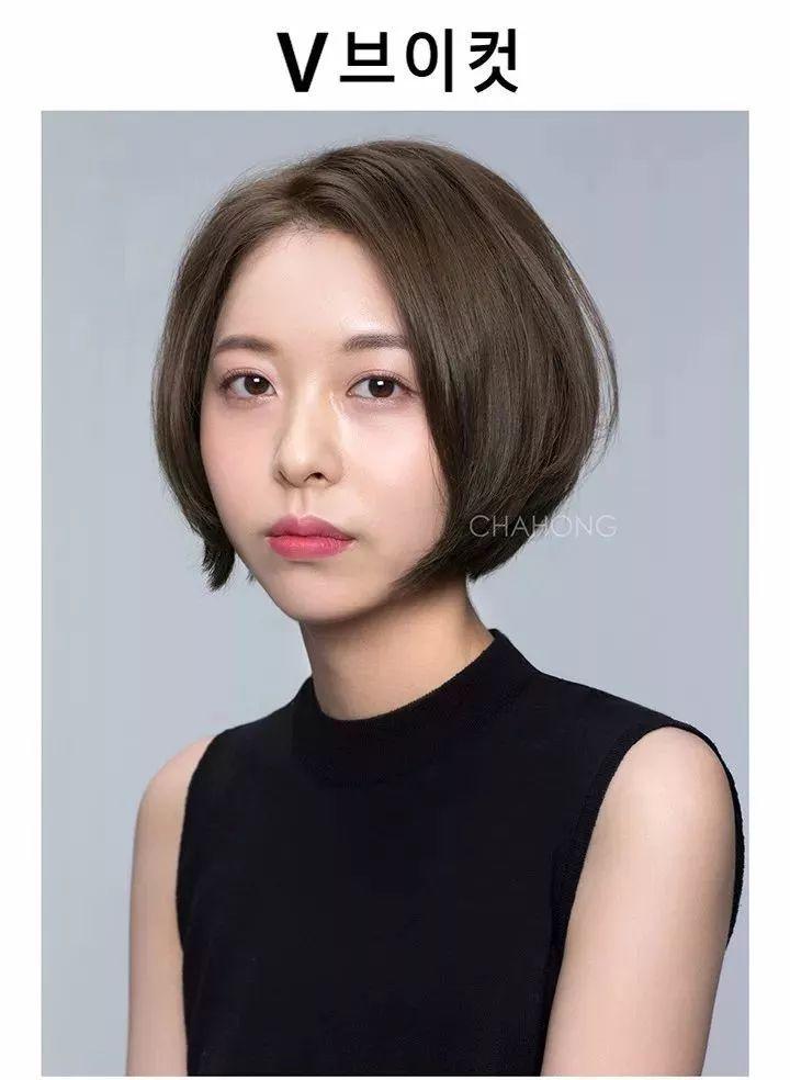 2018流行短发发型 齐嘴短发可甜美可御姐