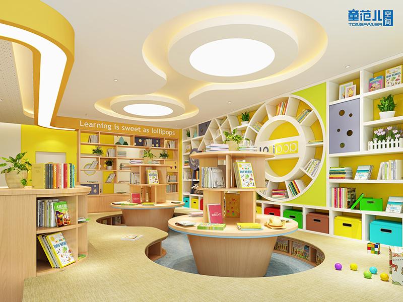 童范儿幼儿园设计多彩糖果学习馆设计效果图图片