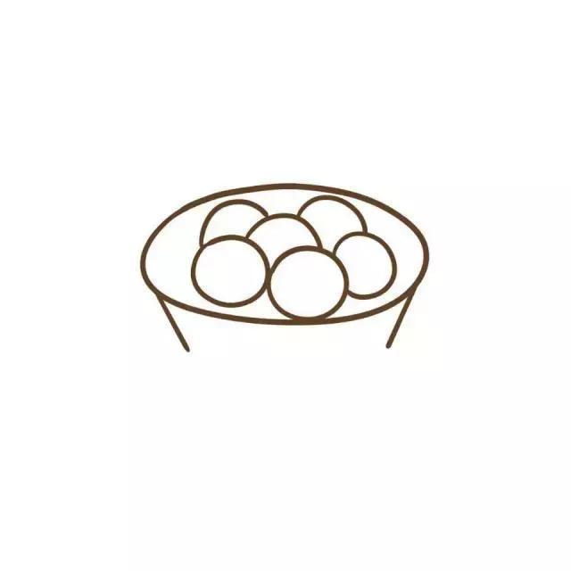 儿童简笔画 北吃饺子南吃汤圆,今天冬至你吃了吗