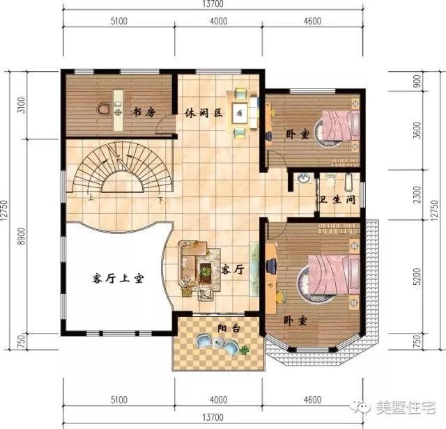 7x12.7米三层农村自建房,告诉你为什么不买商品房