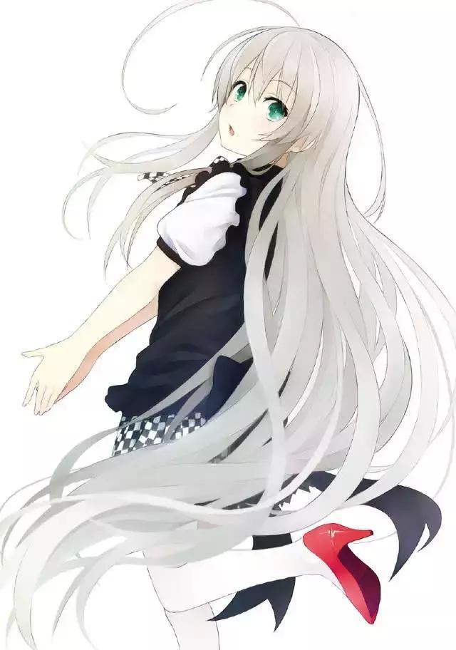十二星座卡通萝莉囹�a_十二星座对应动漫里的白发萝莉,看看谁会是你命中守护