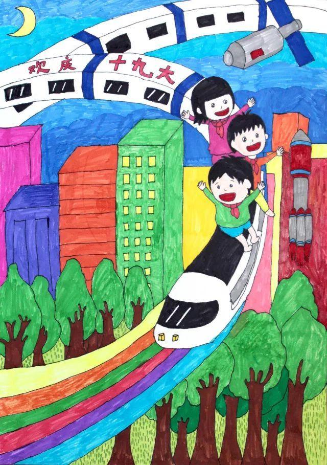 少年儿童绘画作品展(二)▎红星四场,黄田农场,淖毛湖
