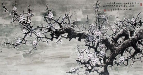 郑雪春的书画作品中能让人体会出中得心源、得其环中