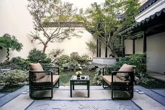最美· 新中式庭院图片