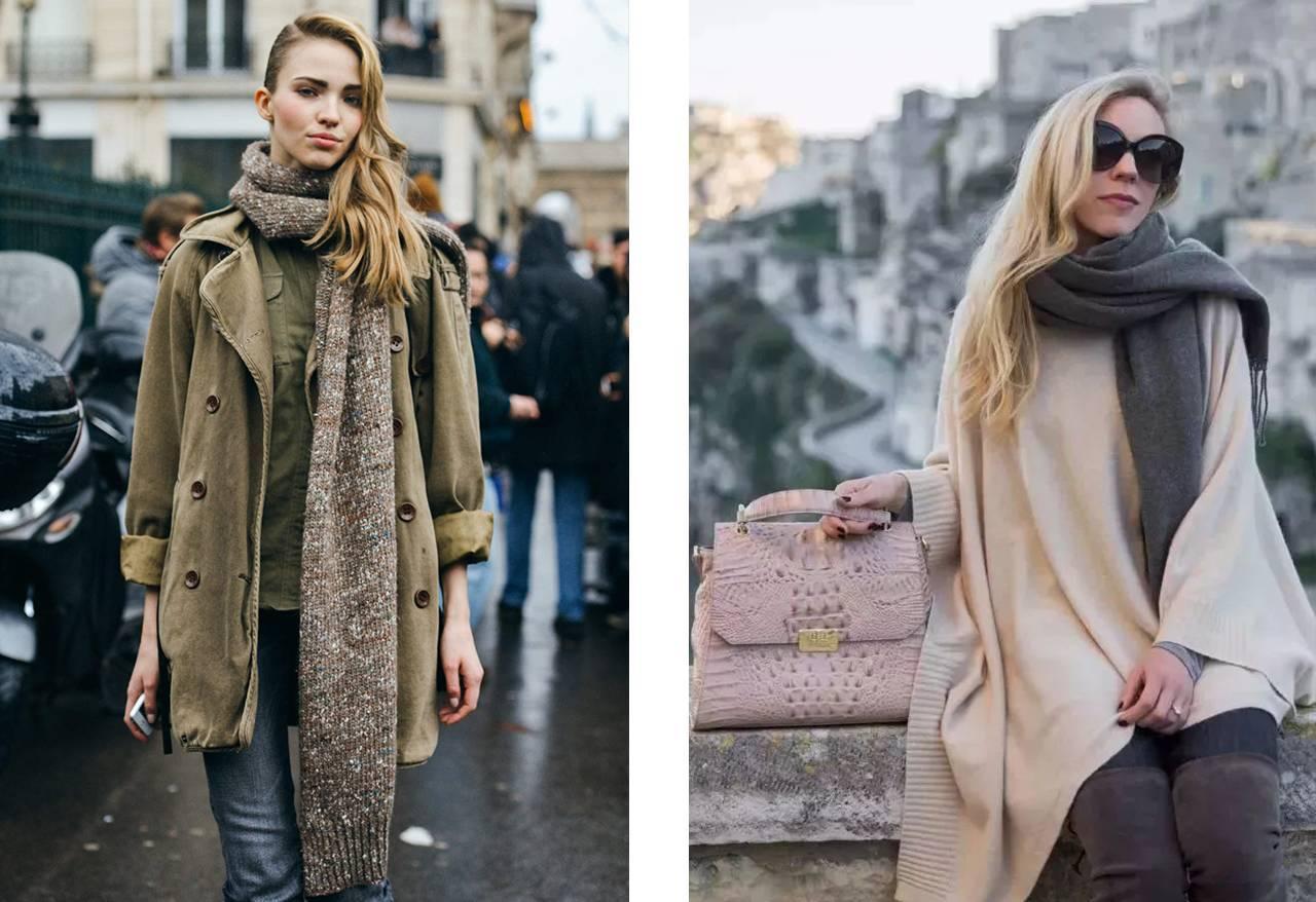 就让目眩神迷的丝巾变为你最新鲜时尚的配饰吧
