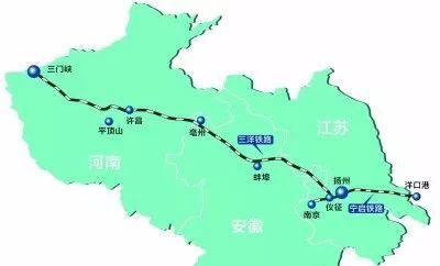 三洋铁路规划图