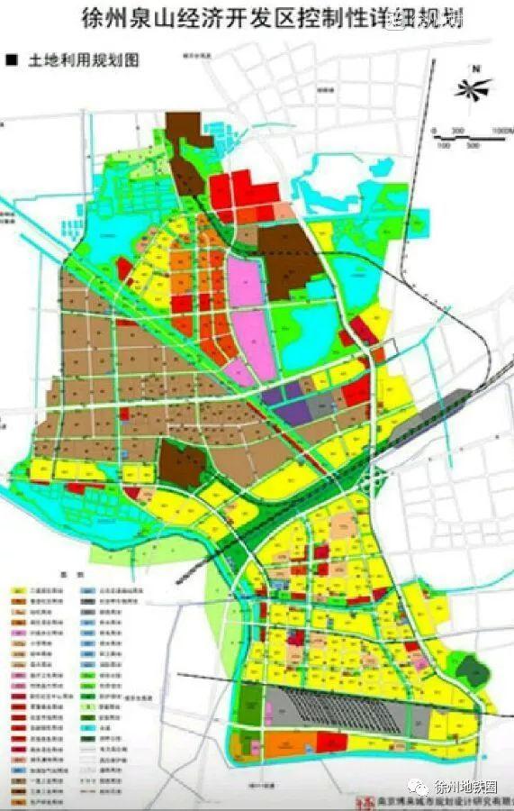 国家级的徐州经济技术开发区和位于铜山区的徐州高新区.