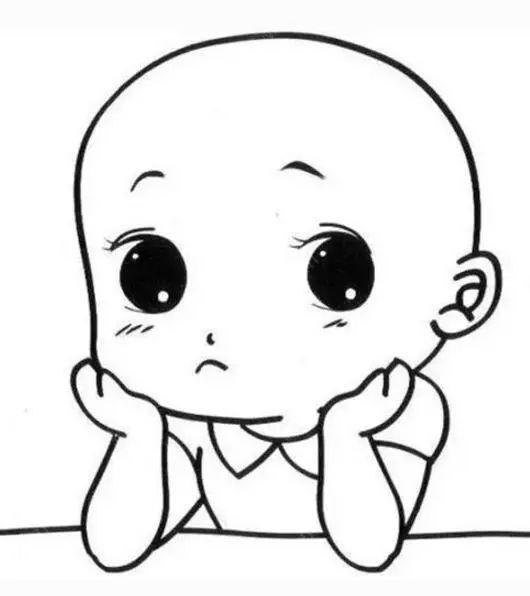 动漫 简笔画 卡通 漫画 手绘 头像 线稿 530_596
