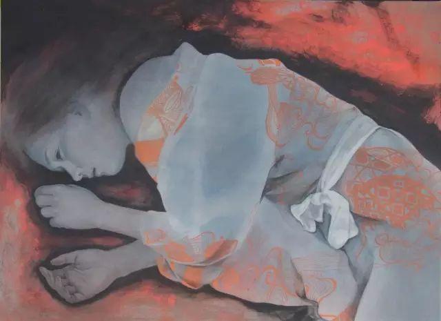 日本露穴大但人体艺术_日本美女画家的工笔人体,独具特色!