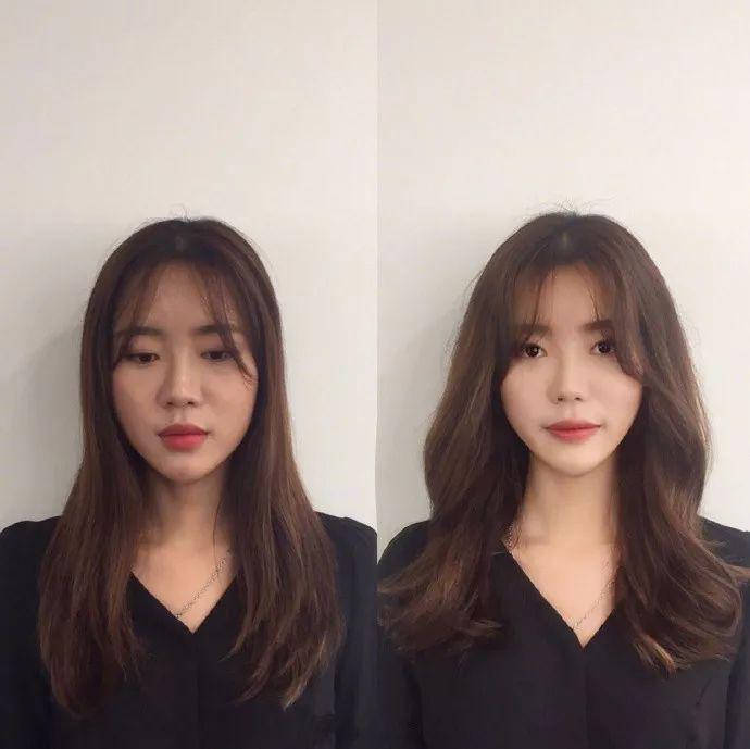 时尚 正文  也可以直接选择 内扣的偏分短发,修饰脸型一步到位哦.图片
