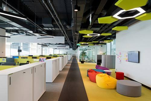 创意工业风办公室设计,装修效果就是走心图片