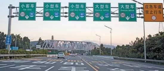 高速公路指示牌_上高速不用慌:教你正确认识高速指示牌