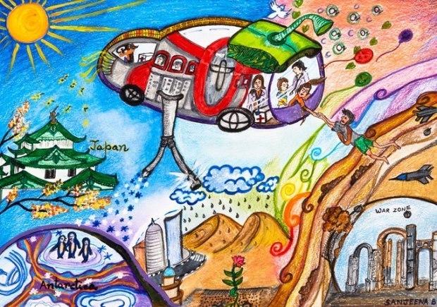 童心童梦 放飞梦想 儿童绘画比赛开始啦 奖品多到爆,pad kindle 蓝牙音箱