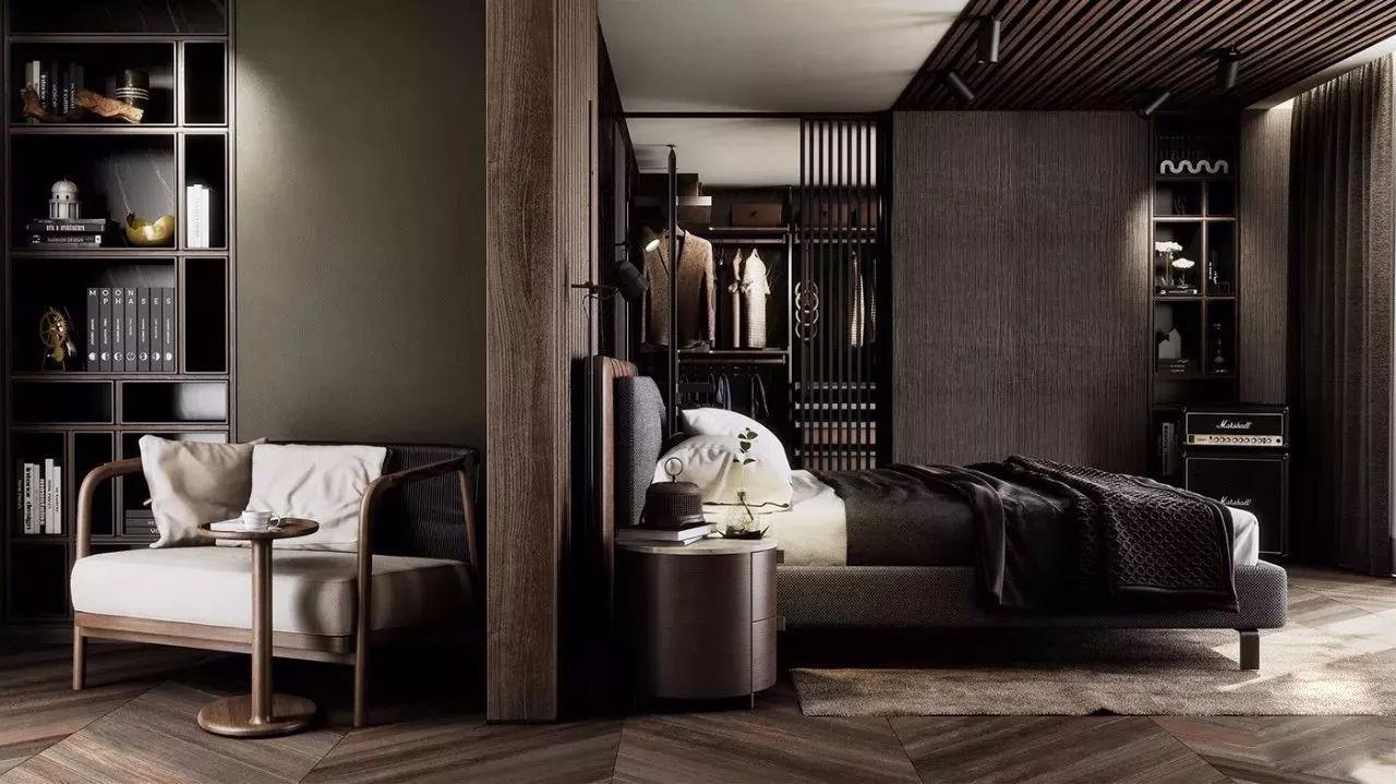 室内设计|高级黑色,永不过时的软装配色