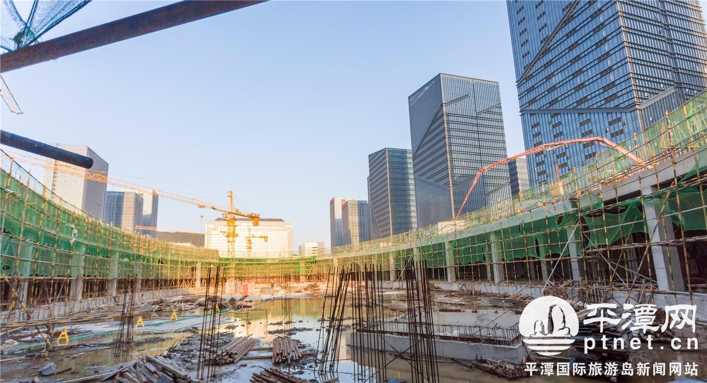 下沉式商业广场图片