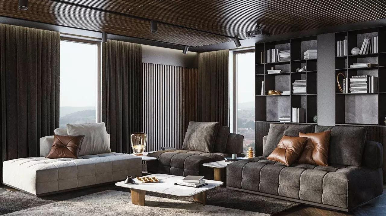 室内设计 高级黑色,永不过时的软装配色
