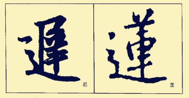 王羲之基本笔画和笔法