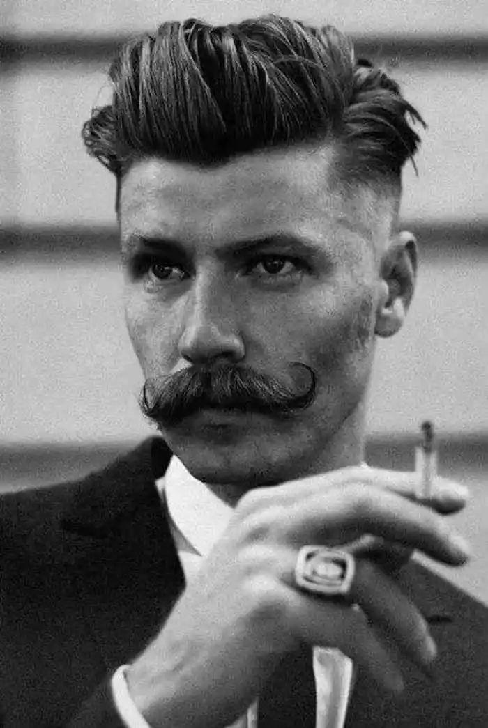 胡须 | 看脸型留胡子,提高男性魅力异性缘不会差
