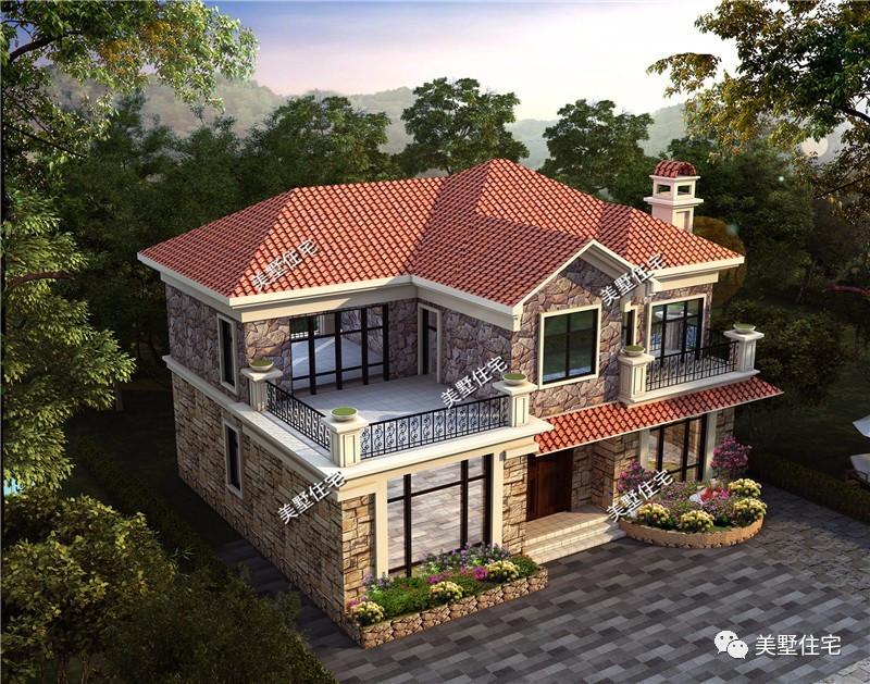 42款2层实用户型农村别墅图纸,过年回家建房,选中一款