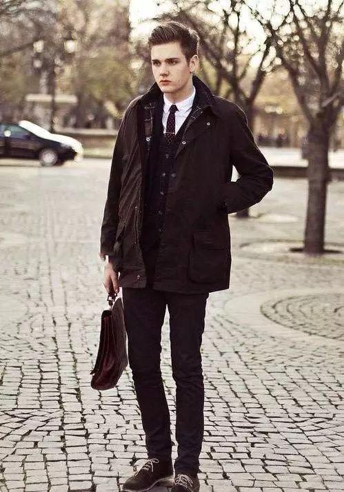 时尚男士冬季保暖搭配不得不看!