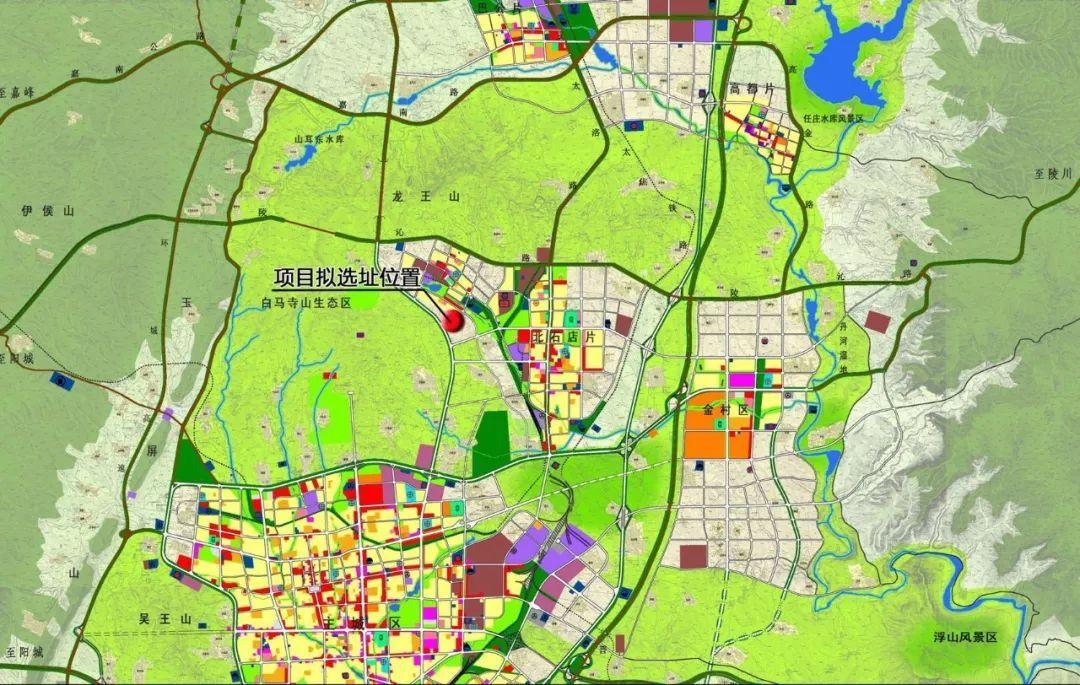 晋城市最新总体规划图