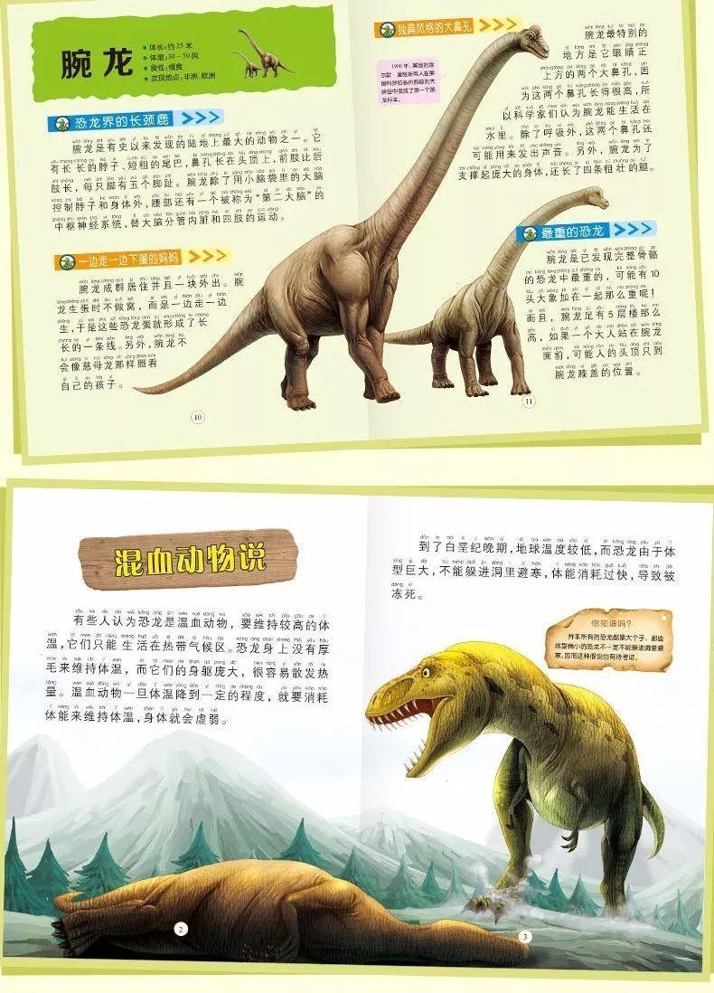 恐龙百科全书图片资料