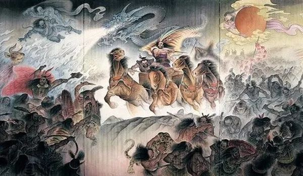 黄帝vs蚩尤